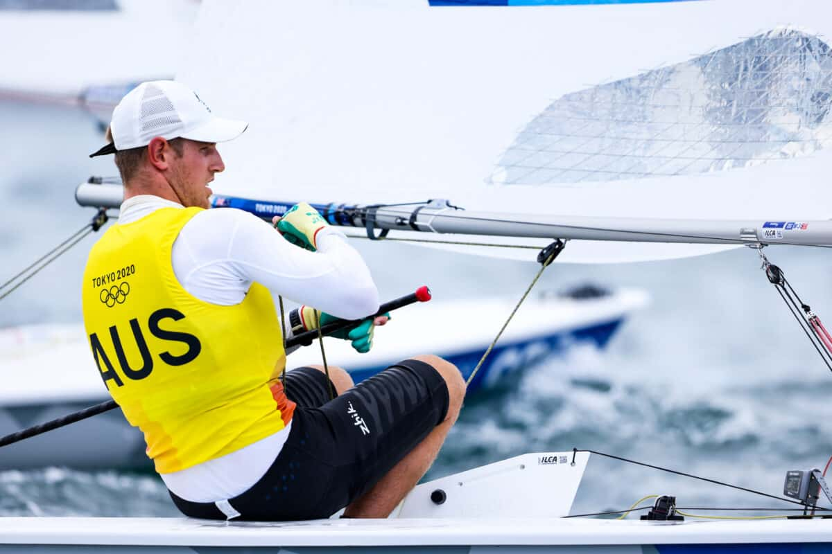 World Sailing   Tokyo 2020 Olympics Games - Evening Report: Wearn secures sailing gold, Rindom wishing she'd done the same
